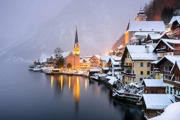 Hallstaat Winter
